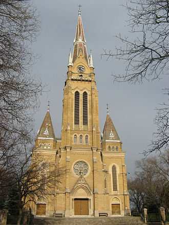 Hungarians in Serbia - Sarlós Boldogasszony Catholic Church in Bačka Topola