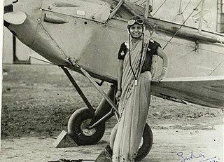 Sarla Thakral Indian aviator
