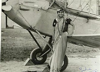 Women in India - Sarla Thakral became the first Indian woman to fly an aircraft in 1936.