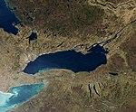 Satellite image of Lake Ontario - November 2009 (cropped).jpg