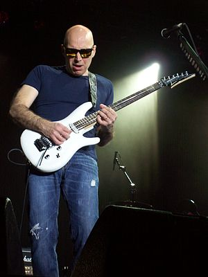 Joe Satriani - Satriani performing in New York, 2010