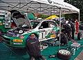 Saxony rally racing Skoda Fabia WRC 01 service (aka).jpg