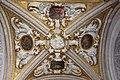 Scala d'oro, stucchi di alessandro vittoria con affreschi di g.b. franco, finita nel 1566, 05.JPG