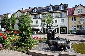 Bad Lippspringe - Image: Schaeferbrunnen