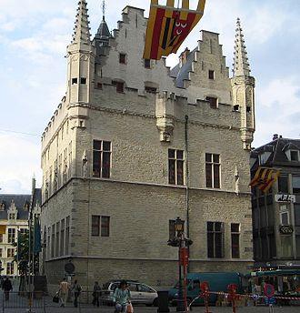 Great Council of Mechelen - The Schepenhuis in Mechelen, seat of the Great Council 1473–1477 and 1504–1609