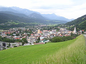 Schladming - Schladming in late-June 2006