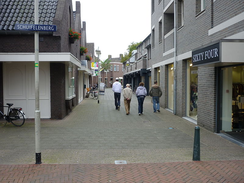 Bestand:Schuifelenberg Deurne vanaf Martinetplein.jpg