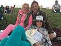 Scodina Kenny, Jonathan Dwek and Alexandra Dwek in Hollister, California.jpg