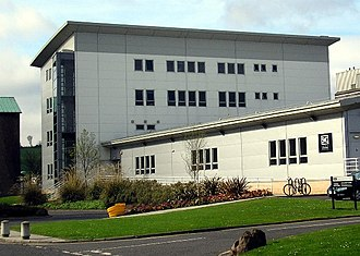 Edinburgh Science Triangle - The Scottish Microelectronics Centre at the University of Edinburgh is a centre for business incubation, research and development in the semiconductor sector; it is a joint venture between the university and Scottish Enterprise.