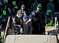 Seahawks linebackers, Super Bowl parade.jpg