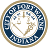 Offizielles Siegel von Fort Wayne, Indiana