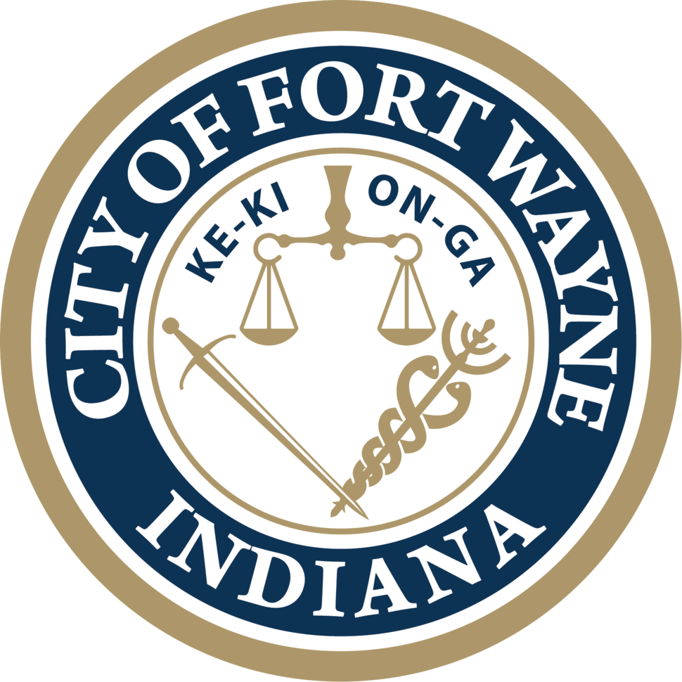 Official seal of Fort Wayne, Indiana