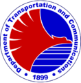 Seal of the Department of Transportation and Communications of the Philippines.png