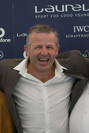 Sean Fitzpatrick - Sean Fitzpatrick at the 2008 Laureus Day in London