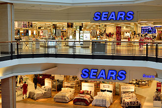 Sears Canada - The Sears store in Fairview Mall, Toronto, one of the stores acquired from Simpsons in 1991