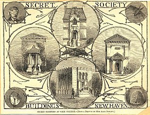 Secret society - Image: Secret Society Buildings New Haven