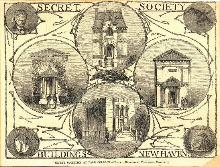 Secret Society Buildings New Haven