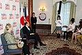 Secretary Clinton and Ambassador Roos at the Tomodachi Event (7527710254).jpg