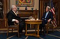 Secretary Kerry Sits With Rossiya 24's Mikhail Gusman Before an Interview Focused on U.S.-Russia Relations, Syria, and Ukraine in Moscow (25381266733).jpg