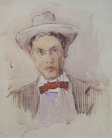 Selbstporträt, 1901, Frieseke.jpg