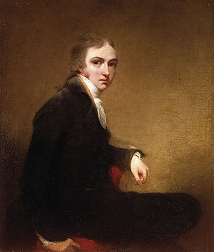Thomas Lawrence - Thomas Lawrence, Self-portrait, 1788