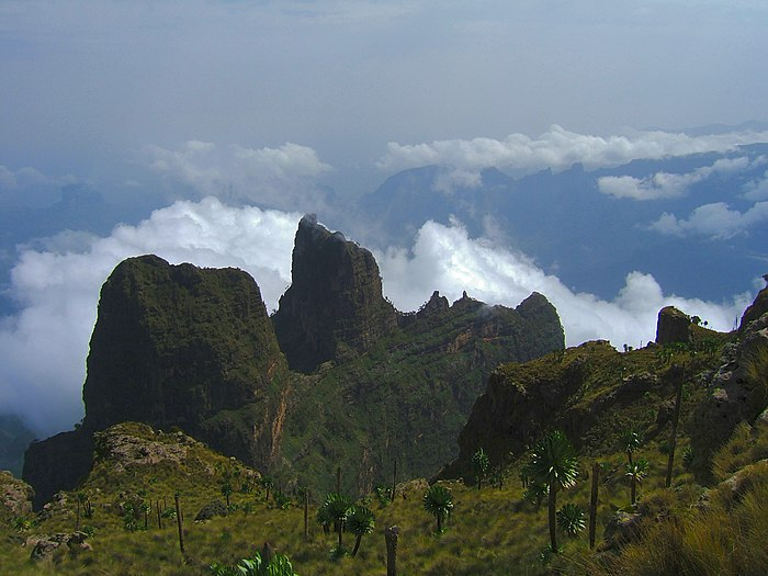 Mountain in Ethiopia