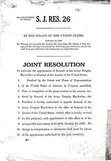 """Document disant """"résolution commune""""."""