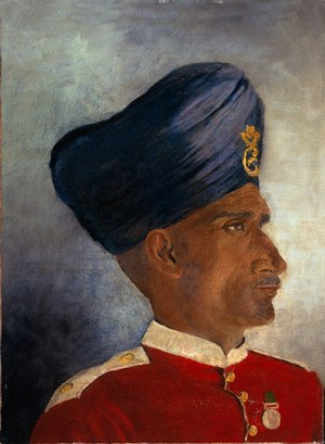 Sepoy - Sepoy of the Indian Infantry, circa 1900