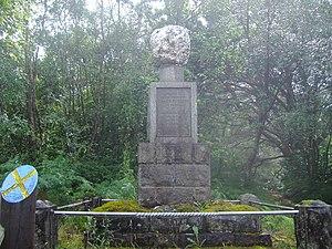 James Stewart of the Glen - Seamus a'Ghlinne memorial cairn