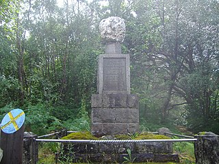 James Stewart of the Glen Wrongly executed Scot
