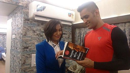 Sfurti with MS Dhoni