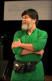 Dr. Alam at the Asia-Europe Emerging Photographers' Forum in Malaysia (May 2009)