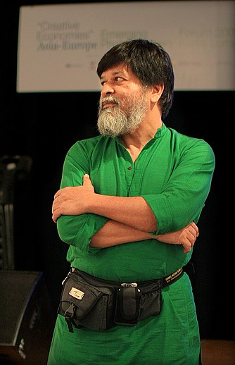 Photographer Shahidul Alam, founder of Drik Picture Library, was arrested for talking about the protests in an interview with Al Jazeera Shahidul Alam May 2009 Malaysia.jpg