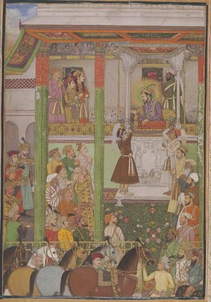 Ali Mardan Khan - Shahjahan receives Ali Mardan Khan in durbar