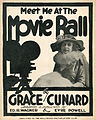 Sheet music cover - MEET ME AT THE MOVIE BALL (1916).jpg