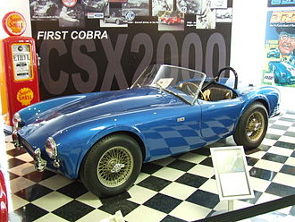 Carroll Shelby International - The first AC Cobra, CSX2000, at the Shelby Museum