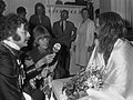 Shepard Sherbell, Brian Jones, Maharishi Mahesh Yogi 1967 by Ben Merk.jpg