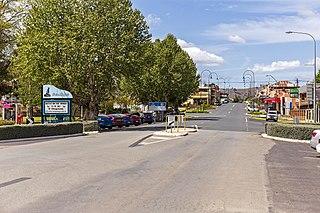 Gundagai Town in New South Wales, Australia