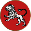 Shield Europa IXth-XIth c red whith lion white.png