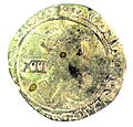 Shilling of James I - Counterfeit (YORYM-1995.109.09) obverse.jpg