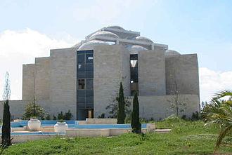 Shilo, Mateh Binyamin - Yeshiva building under construction