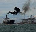Ship Maneuvering out of Port S.Louis du Rhone, near Marseille.jpg