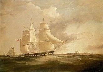 Sir George Seymour (1844 ship) - Image: Ship Sir George Seymour