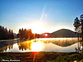 Shiroka Polyana Dam at sunrise..jpg