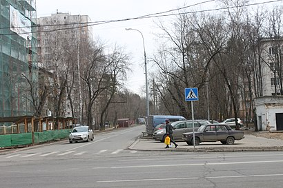 How to get to Шушенская Улица with public transit - About the place