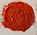 Siegel der Herrschaftlich Adlerschen Gerichte - Wappen der Familie Adler.png