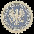 Siegelmarke Der K. Landrath des Kreises Saarburg W0352163.jpg