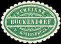 Siegelmarke Gemeinde Höckendorf bei Königsbrück W0252667.jpg