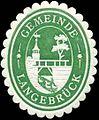 Siegelmarke Gemeinde Langebrück W0311228.jpg