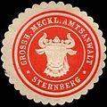 Siegelmarke Grossherzoglich Mecklenburgischer Amtsanwalt - Sternberg W0220650.jpg